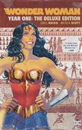 WONDER WOMAN YEAR ONE DLX ED HC
