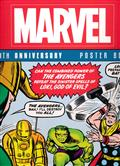 MARVEL 80TH ANNIVERSARY POSTER BOOK TP