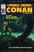 SAVAGE SWORD CONAN ORIG MARVEL YRS OMNIBUS HC VOL 02 STARLIN