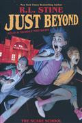 JUST BEYOND SCARE SCHOOL ORIGINAL GN RL STINE