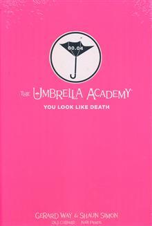UMBRELLA ACADEMY YOU LOOK LIKE DEATH LIBRARY ED HC