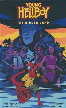 YOUNG HELLBOY THE HIDDEN LAND HC