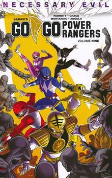 GO GO POWER RANGERS TP VOL 09