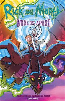 RICK & MORTY WORLDS APART TP (MR)