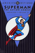 SUPERMAN ACTION COMICS ARCHIVES VOL 5 HC