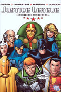 JUSTICE LEAGUE INTERNATIONAL VOL 1 HC