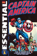 ESSENTIAL CAPTAIN AMERICA TP VOL 01 NEW PTG