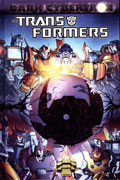 TRANSFORMERS DARK CYBERTRON HC