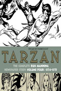 TARZAN RUSS MANNING NEWSPAPER STRIPS HC VOL 04 1974-1979