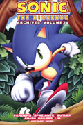 SONIC THE HEDGEHOG ARCHIVES TP VOL 24