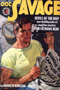DOC SAVAGE DOUBLE NOVEL VOL 79 DEVILS OF DEEP