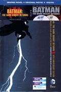 BATMAN DARK KNIGHT RETURNS HC BOOK & DVD BLU RAY SET