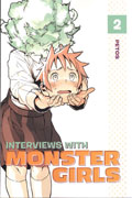 INTERVIEWS WITH MONSTER GIRLS GN VOL 02