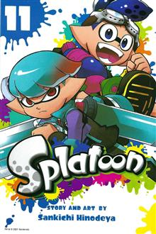 SPLATOON MANGA GN VOL 11