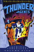 THUNDER AGENTS ARCHIVES VOL 5 HC