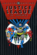 JUSTICE LEAGUE OF AMERICA ARCHIVES VOL 1 HC