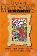 MMW GOLDEN AGE HUMAN TORCH HC VOL 02 VAR 88