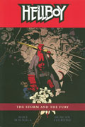 HELLBOY TP VOL 12 THE STORM AND THE FURY