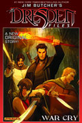 JIM BUTCHERS DRESDEN FILES WAR CRY HC SGN ED