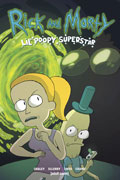 RICK & MORTY LIL POOPY SUPERSTAR TP VOL 01