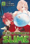 THAT TIME I GOT REINCARNATED AS A SLIME GN VOL 03 (MR)