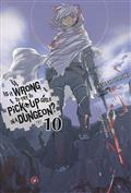 IS WRONG PICK UP GIRLS DUNGEON NOVEL SC VOL 10