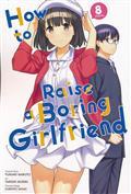 HOW TO RAISE BORING GIRLFRIEND GN VOL 08