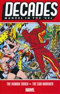 DECADES MARVEL IN 40S TP HUMAN TORCH VS SUB-MARINER