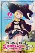 IVE BEEN KILLING SLIMES 300 YEARS NOVEL SC VOL 03 (C: 0-1-2)