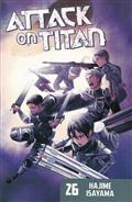 ATTACK ON TITAN GN VOL 26 (MR) (C: 1-1-0)