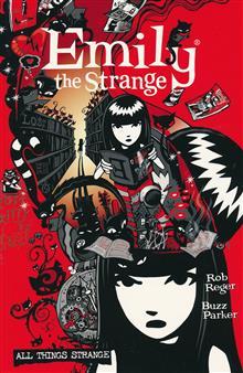 COMPLETE EMILY THE STRANGE ALL THINGS STRANGE 2ND ED TP