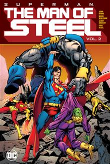 SUPERMAN THE MAN OF STEEL VOL 02 HC