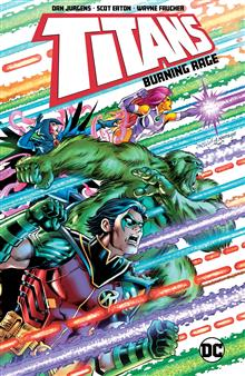 TITANS BURNING RAGE TP