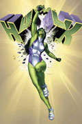 SHE-HULK VOL 1 SINGLE GREEN FEMALE TP