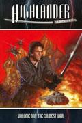 HIGHLANDER THE COLDEST WAR TP Dave Dorman Cover