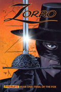 ZORRO YEAR ONE VOL 1 TRAIL O/T FOX HC PX WAGNER COVER