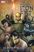 IMMORTAL IRON FIST VOL 5 ESCAPE FROM EIGHTH CITY TP