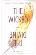 WICKED & DIVINE TP VOL 01 THE FAUST ACT (MR)