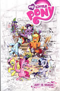 MY LITTLE PONY ART IS MAGIC TP VOL 01