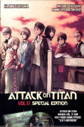 ATTACK ON TITAN GN VOL 17 SPECIAL ED WITH DVD