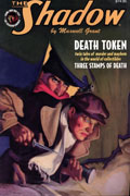 SHADOW DOUBLE NOVEL VOL 112 DEATH TOKEN & 3 STAMPS OF DEATH