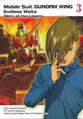 MOBILE SUIT GUNDAM WING GN VOL 03 GLORY OF THE LOSERS