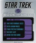 STAR TREK BOOK OF LISTS HC (C: 0-1-0)