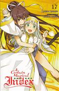 CERTAIN MAGICAL INDEX LIGHT NOVEL SC VOL 17 (C: 0-1-2)