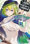 IS WRONG PICK UP GIRLS DUNGEON FAMILIA LYU GN VOL 01 (C: 1-1