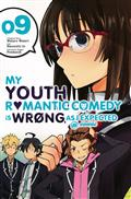 YOUTH ROMANTIC COMEDY WRONG EXPECTED GN VOL 09 (C: 1-1-2)