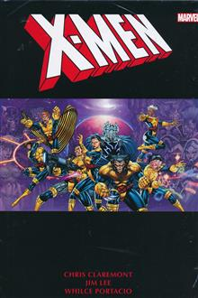 X-MEN BY CHRIS CLAREMONT & JIM LEE OMNIBUS HC VOL 02 DM VAR