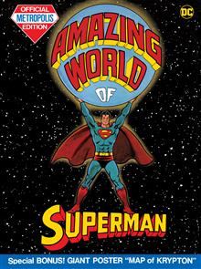 AMAZING WORLD OF SUPERMAN (TABLOID EDITION) HC