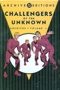 CHALLENGERS OF THE UNKNOWN ARCHIVES VOL 1 HC